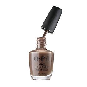OPI Nail Polish Icelandic Brown 15ml NL I54 Long-lasting does not fade fast dry non-peelable American nail