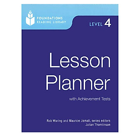 Foundations Reading Library 4: Lesson Planner Level 4
