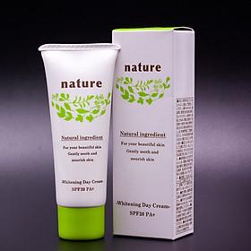 Hình đại diện sản phẩm Kem dưỡng và làm trắng da ban ngày Nhật Bản Naris Nature Whitening Day Cream SPF20/PA+ (40g) – Hàng Chính Hãng