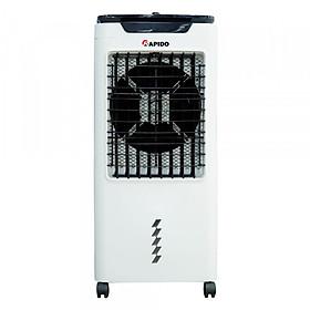 Quạt điều hòa không khí Rapido TURBO 6000M (Điều khiển cơ) (Có thể lắp thêm tấm lọc nano) - Hàng Chính Hãng