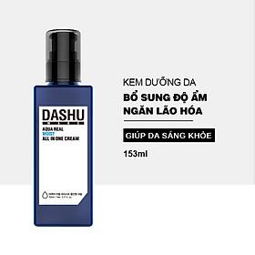 Kem dưỡng da cho nam DASHU Mans Aqua Real Moist All In One Làm mịn da Săn chắc da Ngăn ngừa lão hóa 153ml JN-KD01
