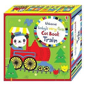 Usborne Baby's Very First Cot Book Train