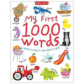 My First 1000 Words: Words To Learn And Lots To Spot