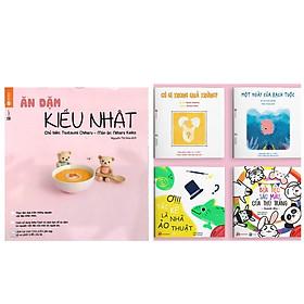 Combo Sách Nuôi Con & Truyện Ehon Nhật Bản 0 - 3 Tuổi: Ăn Dặm Kiểu Nhật + Ehon Sự Kỳ Diệu Của Màu Sắc + Poster An Toàn Cho Con Yêu (Sách phát triển trí tuệ cho bé + sách dinh dưỡng ăn dặm)