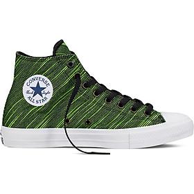 Giày Sneaker Unisex Converse Chuck Taylor All Star II Black/Volt 151086V