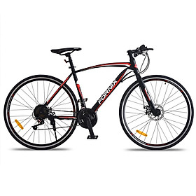 Xe đạp thể thao Fornix FR-303 Mẫu mới 2020 - Đen đỏ - 700C