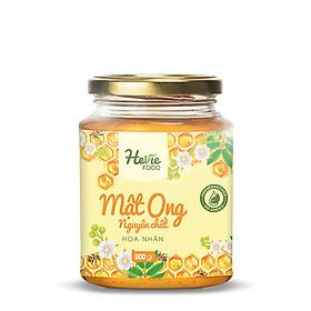 Mật Ong xuất khẩu nguyên chất HeVieFood 500g công dụng bồi bổ tăng cường sức đề kháng, hỗ trợ dinh dưỡng hương vị đậm đà dễ dùng hàng chính hãng công ty, xuất xứ Việt Nam