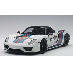 Xe Mô Hình Porsche 918 Spyder Weissach Package 1:18 Autoart - 77927 (Trắng)
