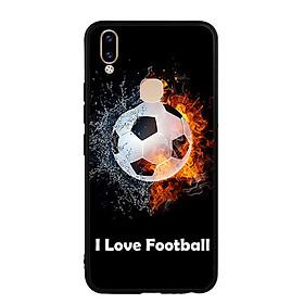 Ốp Lưng Viền TPU cho Vivo V9 - I Love Football