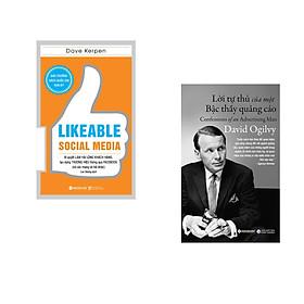 Combo 2 cuốn sách: Likeable Social Media-Bí Quyết Làm Hài Lòng Khách Hàng + Lời Tự Thú Của Một Bậc Thầy Quảng Cáo