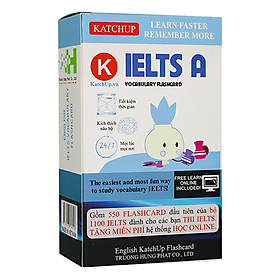 Bộ KatchUp Flashcard IELTS - High Quality