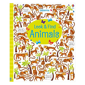Usborne Look And Find: Animals