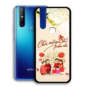 Ốp Lưng Kính Cường Lực cho điện thoại Vivo V15 - 0355 7982 HPNY 24 - Tết đoàn viên - Hàng Chính Hãng