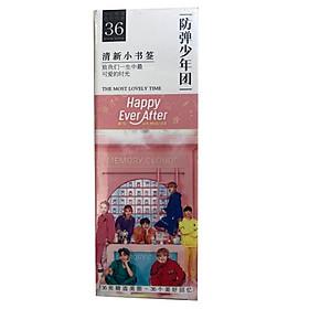 Bookmark Bts happy ever after 36 tấm nhóm nhạc hàn quốc