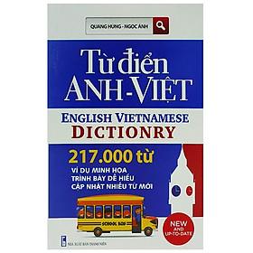 [Download sách] Từ Điển Việt - Anh 217000 Từ