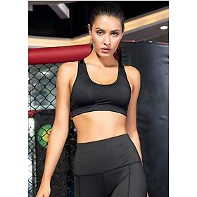 Áo bra croptop nữ tập yoga, gym, aerobic, thể thao giúp nâng ngực hiệu quả - A13