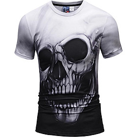 Fashion 3D Short Sleeve T-shirt Vivid Printing Pattern Loose Style For Men And Women