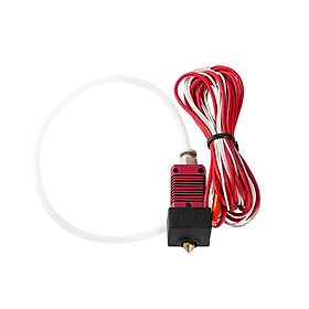 Creality 3D Original MK8 Assembled Extruder Hot End Kit with Aluminum Heating Block 0.4mm Nozzle for