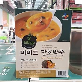 CJ Bibigo Sweet Pumpkin Porridge 450g X 4 Packs