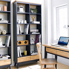 Tủ Sách Nhỏ NB-Blue Gỗ Tự Nhiên Ibie OSBSNBBR - Xanh (50 x 30 cm)