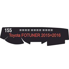 Thảm da Taplo vân Carbon Cao cấp dành cho xe Toyota Fortuner 2014 có khắc chữ Toyota Fortuner và cắt bằng máy lazer