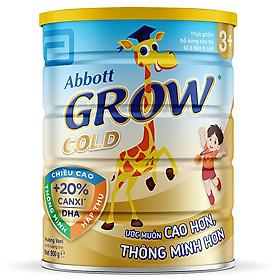 3 Hộp Sữa Bột Abbott Grow G-Power Vanilla GGM Dành Cho Trẻ Từ 3 - 6 Tuổi (900g)