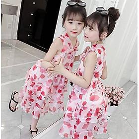 Đầm maxi dễ thương cho bé gái từ 13 đến 40 kg - DB11