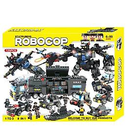 Bộ đồ chơi ghép hình siêu Robot LXA321