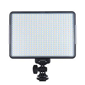 Bộ Đèn LED Điều Chỉnh Độ Sáng Hai Màu Nhiệt Andoer W500 Professional Để Chụp Ảnh Cưới Chân Dung Phỏng Vấn Quay Video Live Show (3200K/5600K 32W CRI90+)