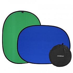 Phông Nền Chụp Ảnh Andoer (1.5 x 2m) - Xanh