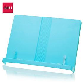 Giá đọc sách chống cận thị bằng nhựa Deli - màu trắng /hồng/xanh dương- 70530 / 70530A