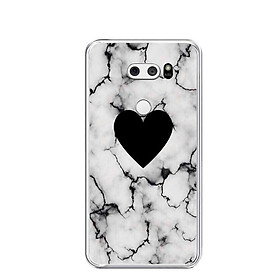 Ốp lưng dẻo cho điện thoại LG V30 - 0417 HEART07 - Hàng Chính Hãng