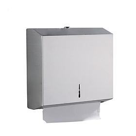 Hộp đựng giấy vệ sinh gắn tường, Mã M-5823, Chất liệu Inox, Dáng chữ nhật