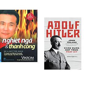 Combo 2 cuốn sách: Nghiệt Ngã & Thành Công + Adolf Hitler - Chân Dung Một Trùm Phát Xít