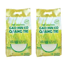 10kg Gạo Hữu Cơ Quảng Trị (2 gói)