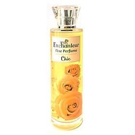 Nước Hoa Toàn thân Enchanteur Fine Pefume Chic 100ml (Chai Vàng)