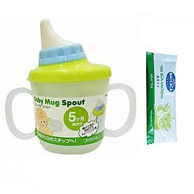 Bình Tập Uống Cho Bé Có Vòi Hút Chống Sặc Nhật Bản + Tặng Trà Sữa Matcha / Cafe Macca 20g