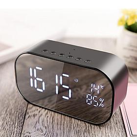 Loa Bluetooth Đa Năng Yayusi S2 kiêm đồng hồ , đo nhiệt độ, có khe cắm thẻ nhớ và USB
