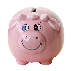 Sheep Shape Piggy Bank Kids' Saving Box Money Coins Home Decor Gift Pink