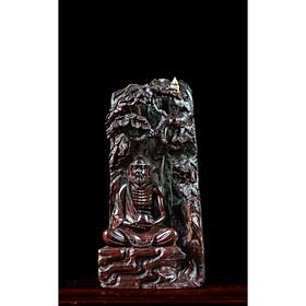 Tượng gỗ mỹ nghệ - Bồ Đề Tổ Thiền Gỗ Trắc