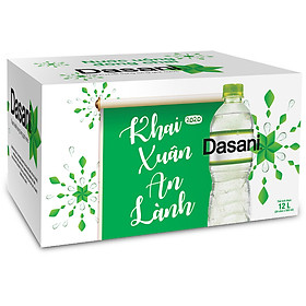 Lốc 24 Chai Nước Đóng Chai Dasani (500ml / Chai)