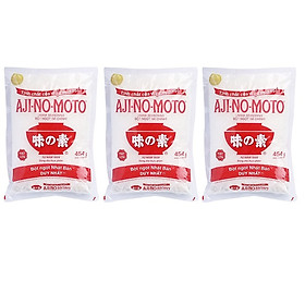 Combo 3 gói Bột Ngọt Ajinomoto loai 454g
