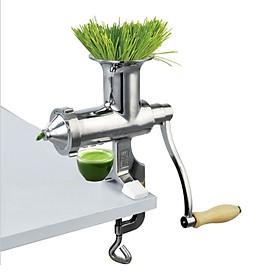 Máy ép trái cây – cỏ lúa mì bằng tay chất liệu inox Manual Wheet Grass Juicer
