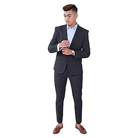 Bộ Vest Floor21 Kẻ Sọc 1BVS0301 (Đen)