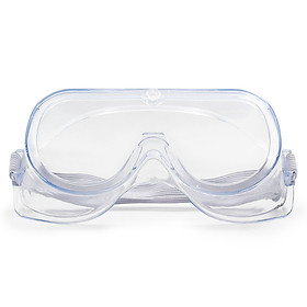 Safety Goggles Adults Adjustable Safety Glasses Splash Impact Resistant Anti Fog Clear Lens Eyewear Use with