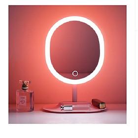 Gương trang điểm kèm đèn led tiện lợi
