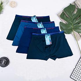 Combo 4 quần đùi sịp nam dạng kim lạnh cực chất