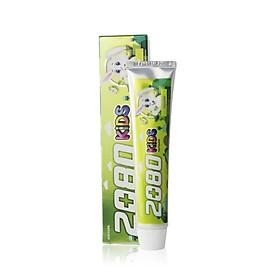 Kem đánh răng trẻ em ngừa sâu răng và cho hơi thở thơm mát hương chuối 2080 KID'S TOOTHPASTE 80g - Hàn Quốc Chính Hãng