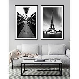 Tranh Trang Trí Tháp  Eiffel nước Pháp