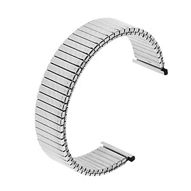 18mm Solid Link Stainless Steel Mens Watch Strap Bracelet Band for Watch